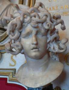 Medusa by Gian Lorenzo Bernini.