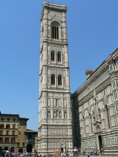 Campanile, Duomo, Florence, 2005.
