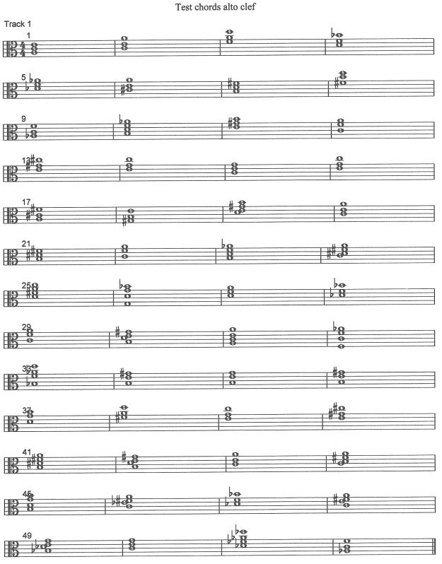 test chords alto clef