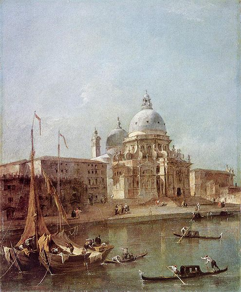 Santa Maria della Salute by Francesco Guardi.