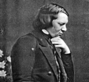 Robert Schumann, 1850, photograph