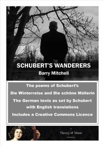Cover page of Schubert's Wanderers by Barry Mitchell