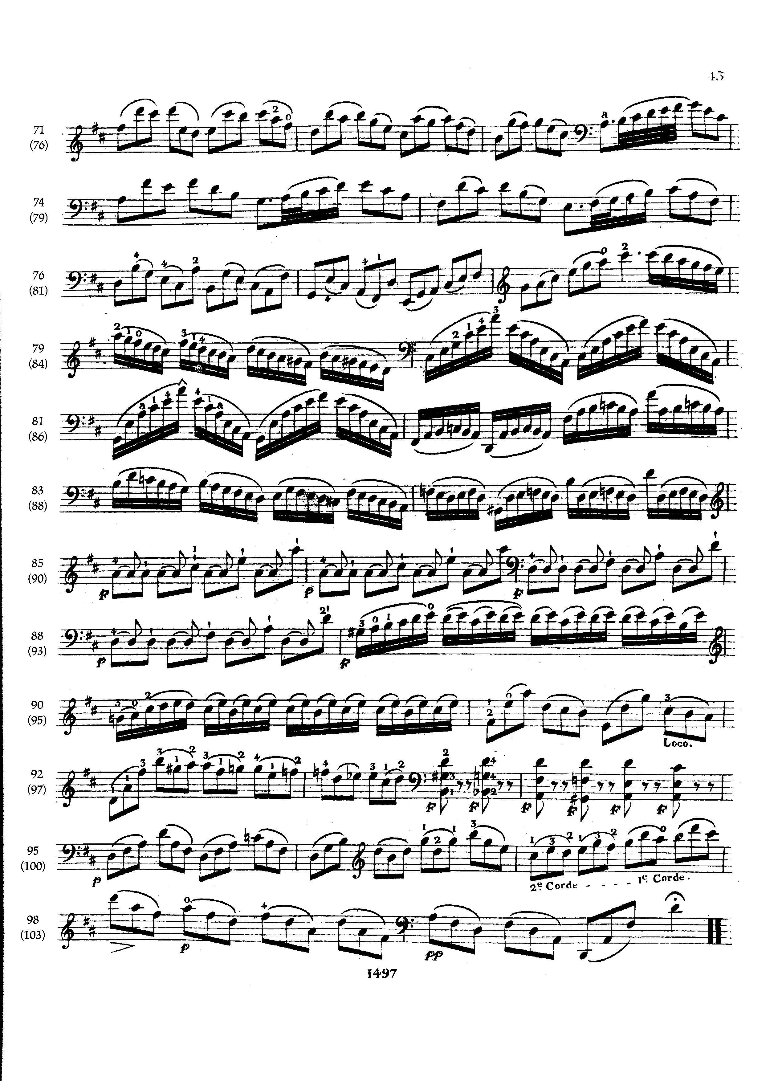 Pablo Casals Js Bach Cello Suite No 6 In D Major Bwv 1012