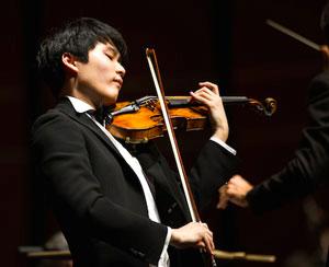InMo Yang, prize winning New England Conservatory student.