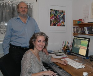 Daniela and Bern Willimek, authors of Music and Emotions: Research on the Theory of Musical Equilibration.