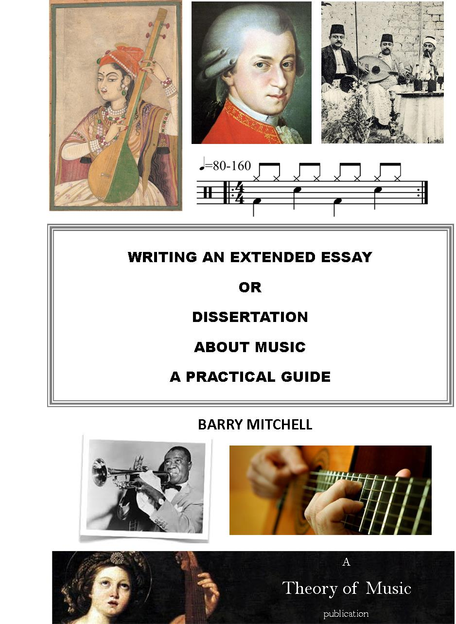 writing an extended essay about music a practical guide theory  writing an extended essay about music a practical guide cover