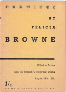 Drawings by Felicia Browne, cover.